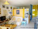 Nudist holiday house in naturist quarter Agde